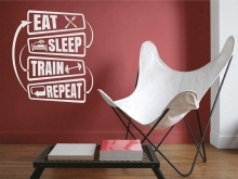Eat. Sleep. Train. Repeat.